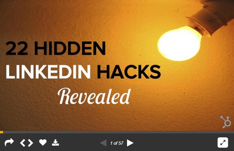 22 ukrytych sztuczki LinkedIn