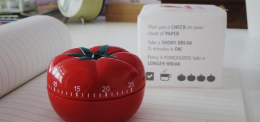 Matematyka i pomidor, czyli co zrobić, żeby czas nie uciekał