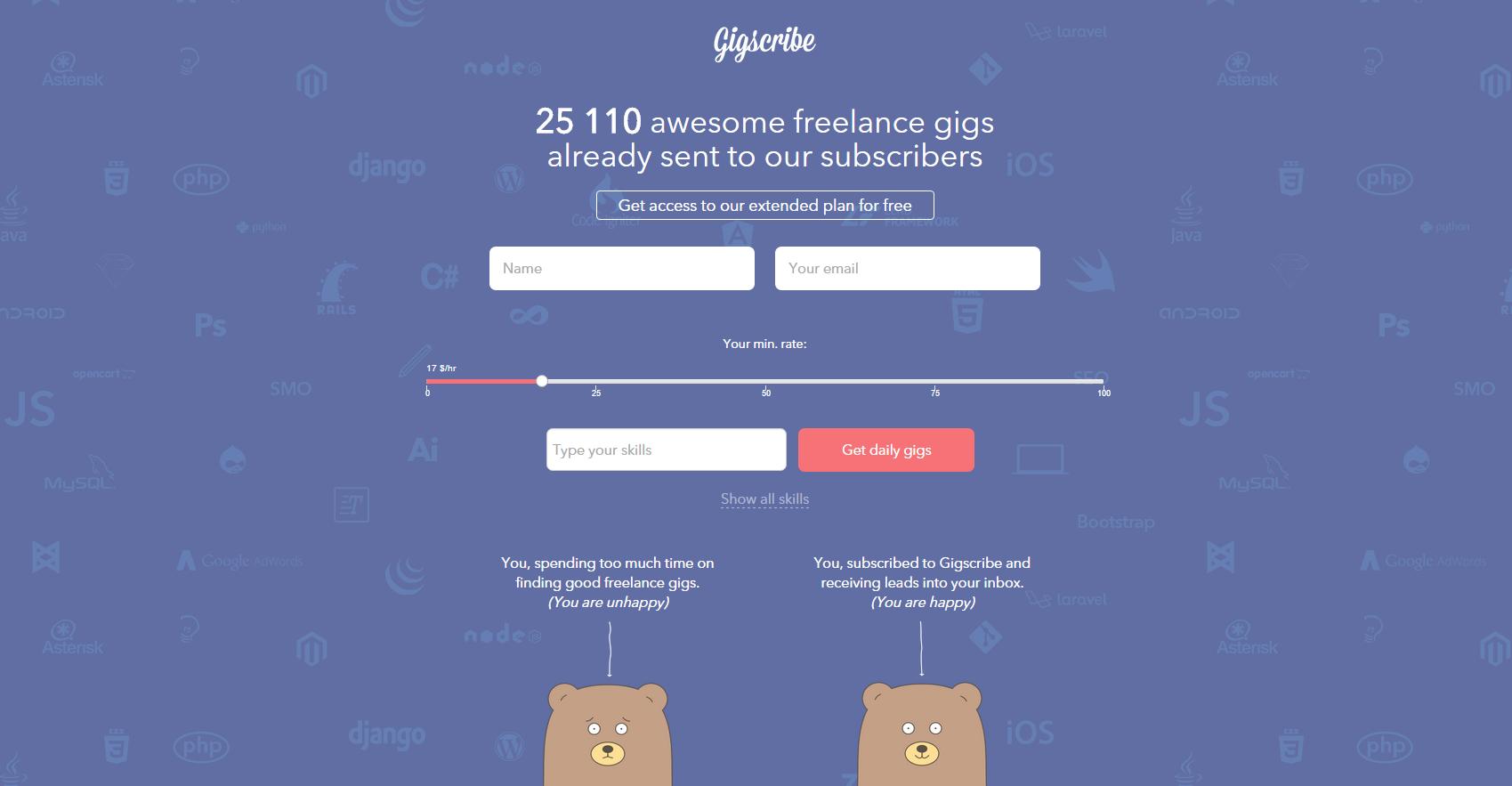 Nowy serwis, który oszczędza freelancerom do 2 godzin dziennie
