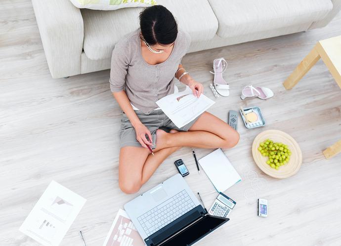 Jak efektywnie pracować w domu