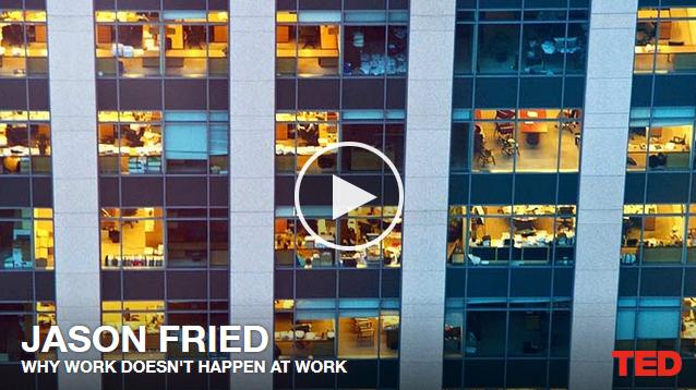 Jason Fried: Dlaczego nie pracujemy w pracy