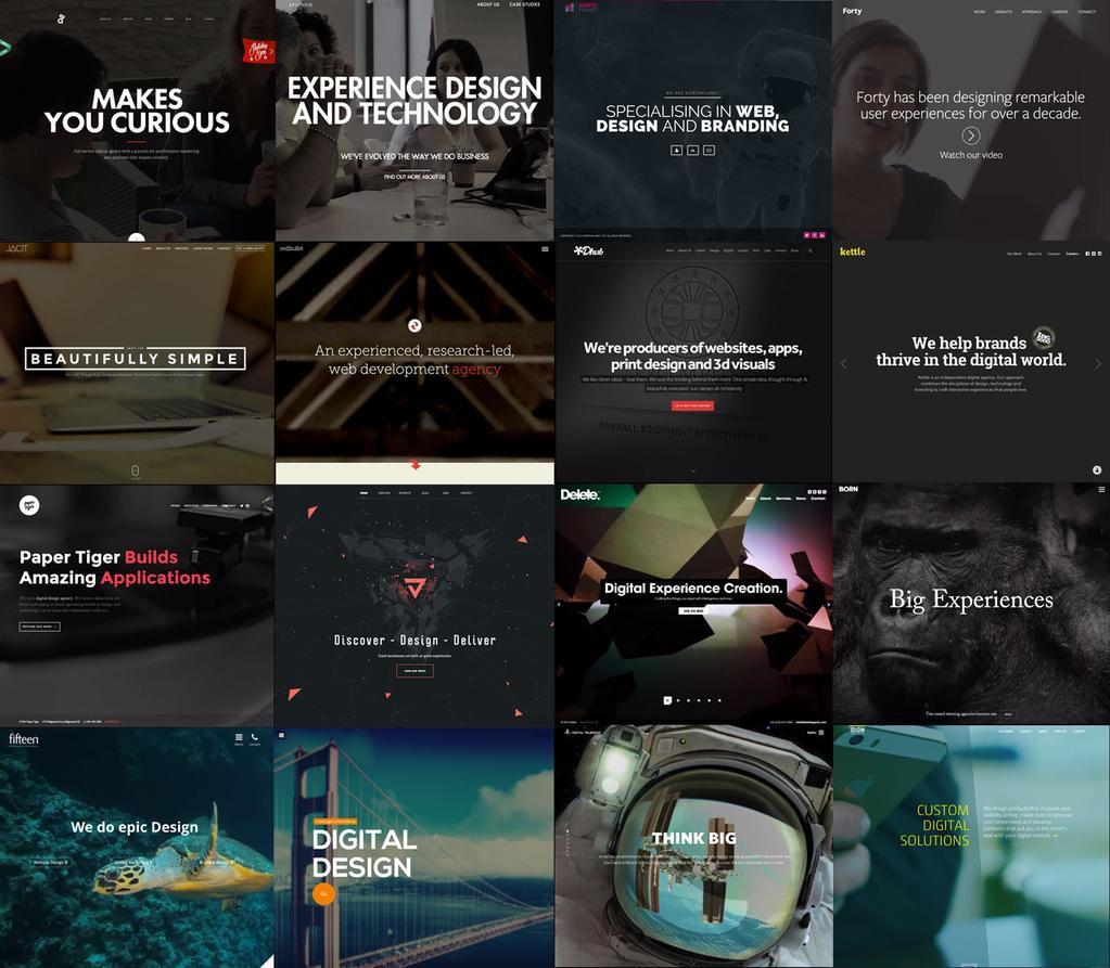 10 trendów web dizajnu 2016