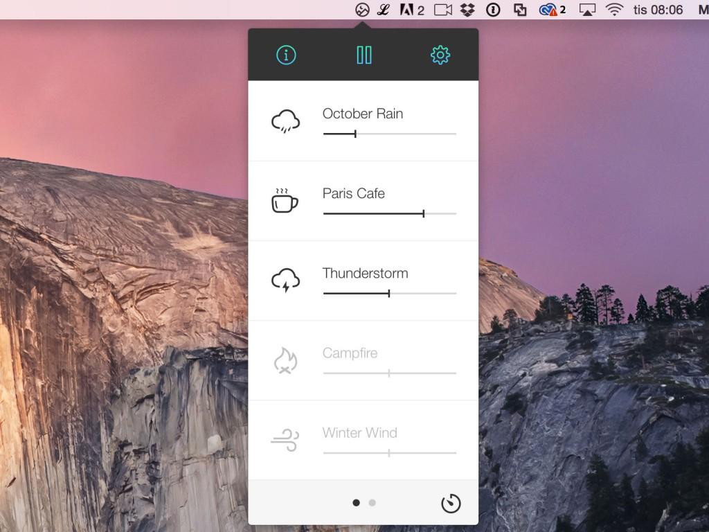 10 aplikacji dla paska menu Mac