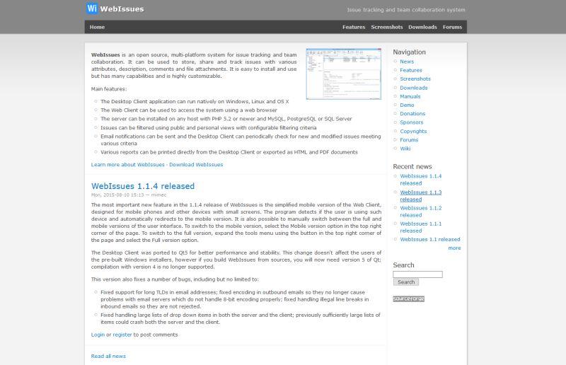 webissues_darmowe_narzędzia_do_bugtrackingu