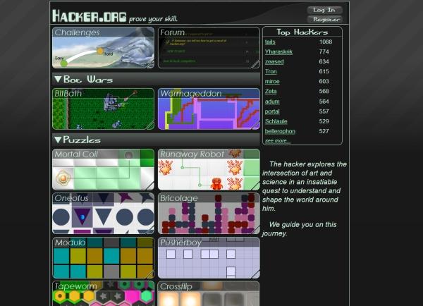 Darmowa gra dla programistów - zagadki i łamigłówki