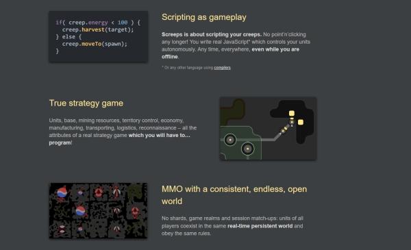 Gry dla programistów - Screps