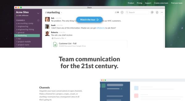 Narzędzia do komunikacji dla zleceniodawców - Slack