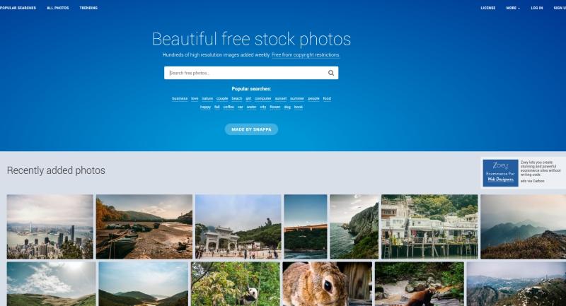 Banki zdjęć dla freelancerów