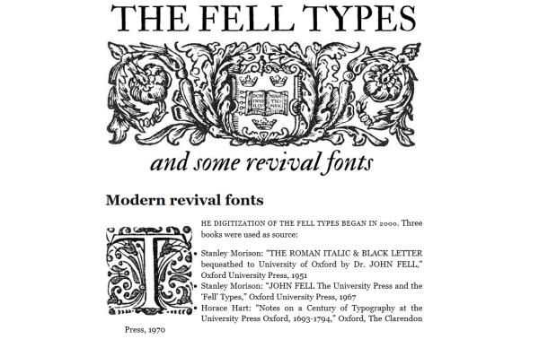 Darmowe źródła dla typografów