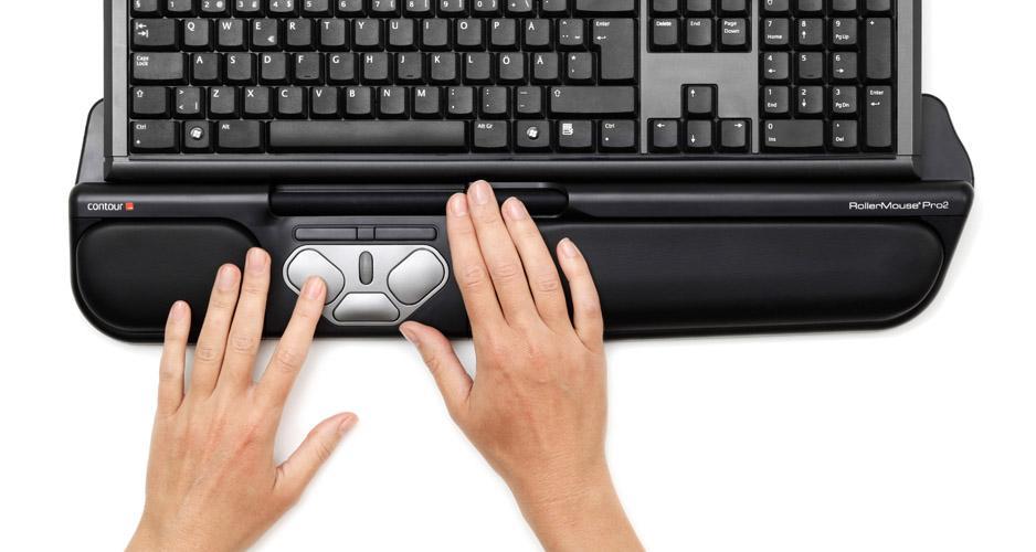 Rollermouse ergonomiczna myszka dla freelancerów