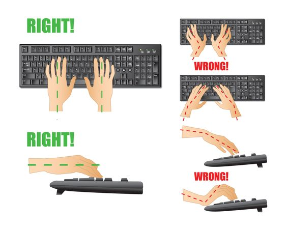 Ergonomiczna klawiatura dla freelancerów