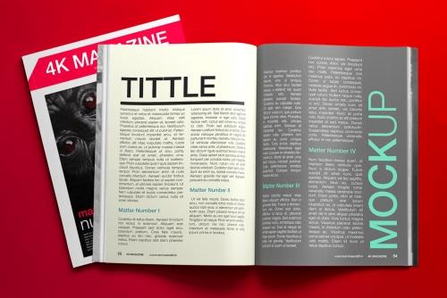 Darmowe mock-upy magazynów