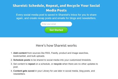 Aplikacje dla copywriterów - shareist