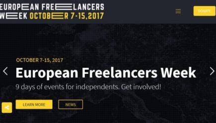 European Freelancers Week wydarzenia