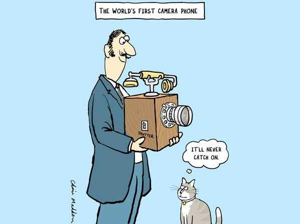 Pierwszy aparat w telefonie