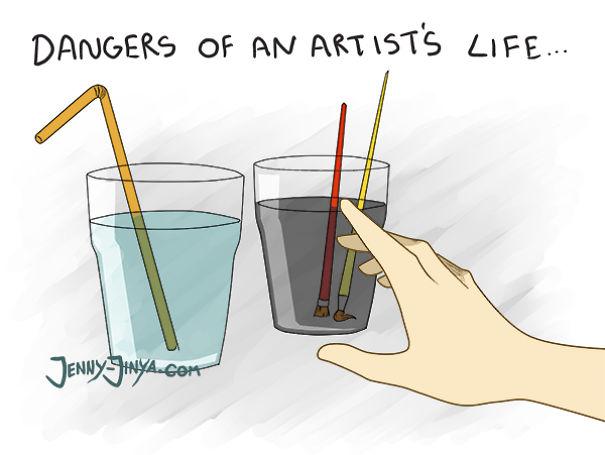 Rysownicy, graficy, ilustratorzy i projektanci w komiksach