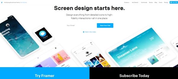 Aplikaxje do tworzenia prototypów appek na telefon