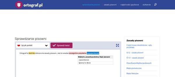 Aplikacje do sprawdzania pisowni dla copywriterów w Polsce