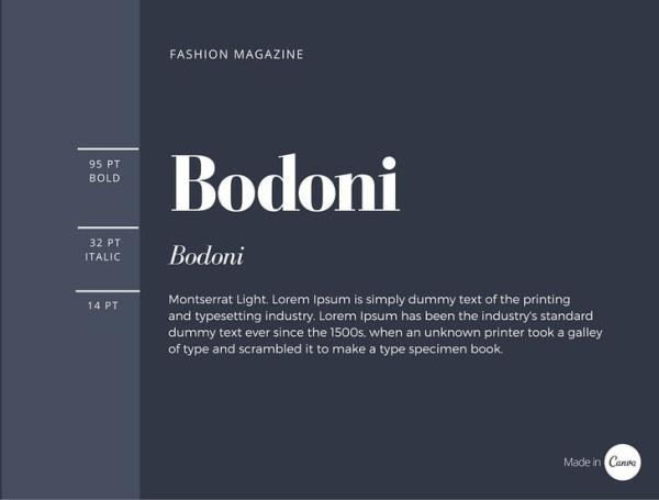 Uniwersalne zestawienia fontów, typografia dla freelancerów