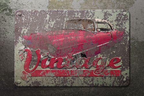 Tutoriale Photoshop dla grafików vintage retro projekty