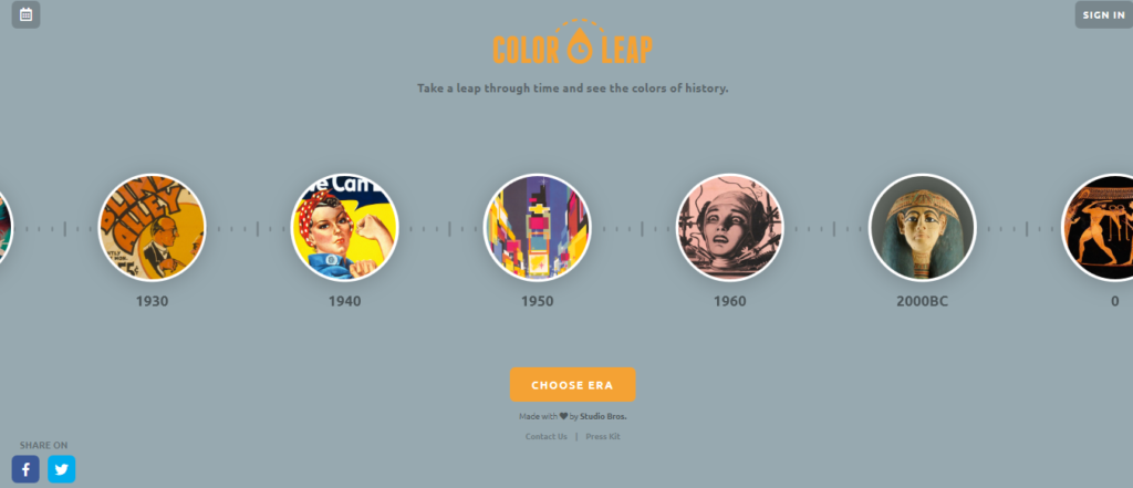Palety kolorów - narzędzia dla grafików