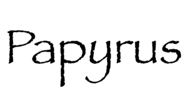 Najgorsze fonty, których nie powinieneś używać w projektach graficznych