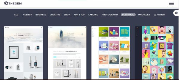 WordPress themes do portfolio dla freelancera