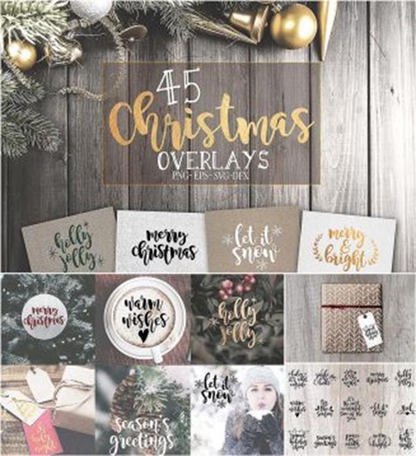 Freebies na Boże Narodzenie dla grafików i fotografów