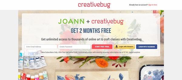 Darmowe kursy online z certyfikatem dla freelancerów - Creative Bug